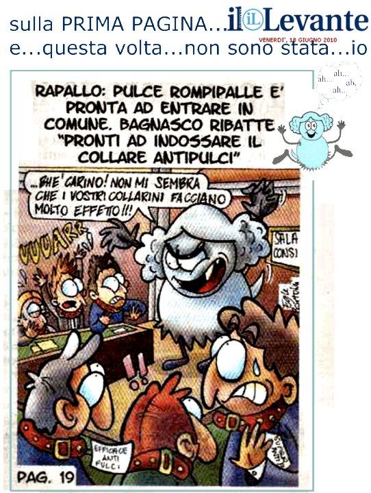 Vignetta: Pulce rompiballe è pronta ad entrare in Comune