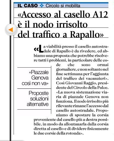 Accesso al casello A12 è il nodo irrisolto di Rapallo
