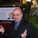 Giovanni Raggio durante il suo discorso