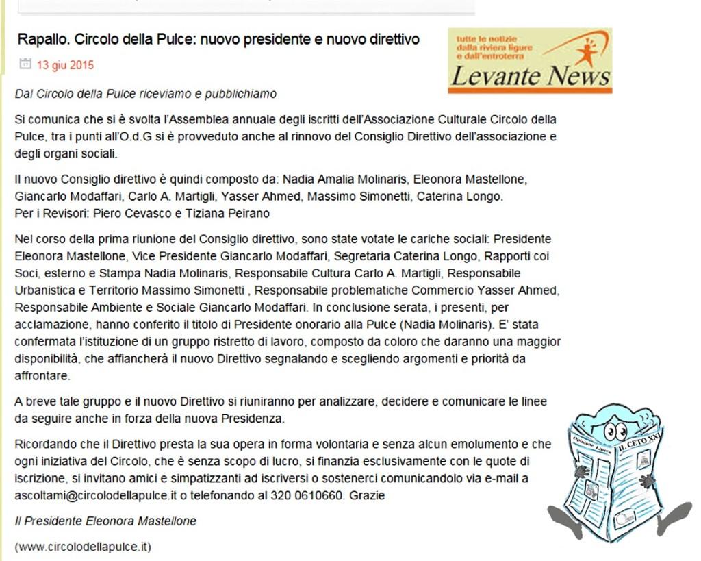 Circolo della Pulce_direttivo e presidenza