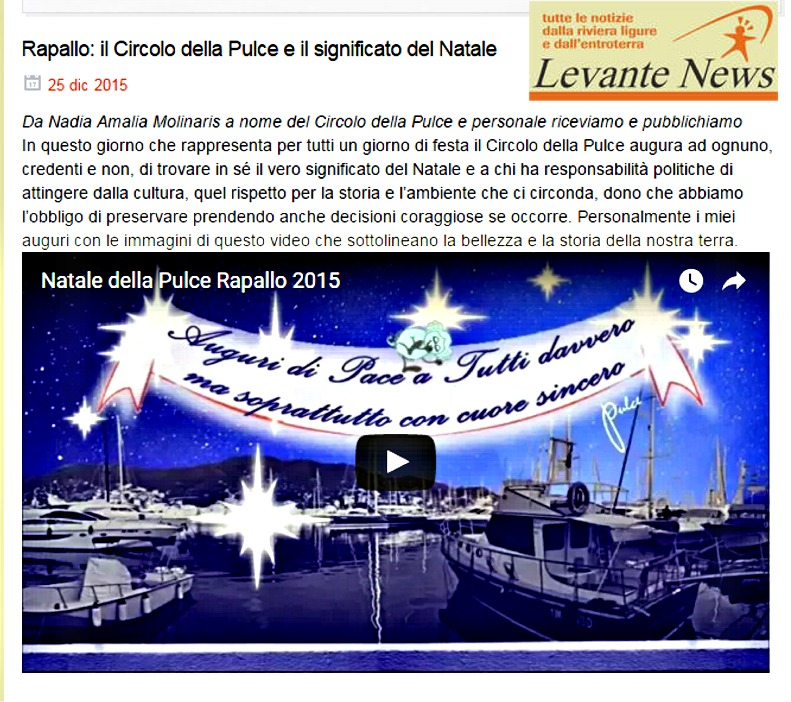 22.12.15 levantenews video natale pulce