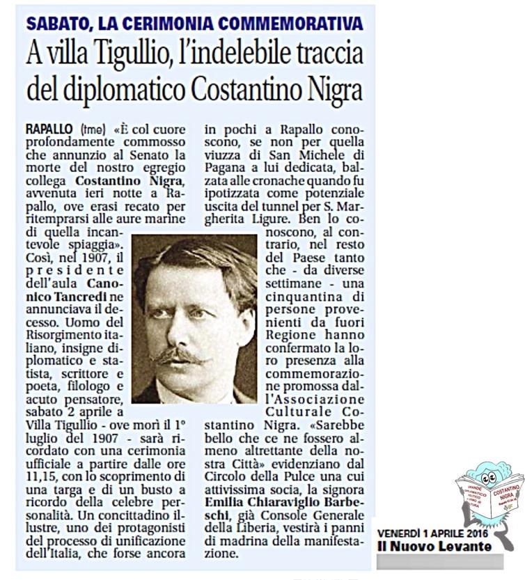 costantino nigra nuovo levante pulce 01.04.16
